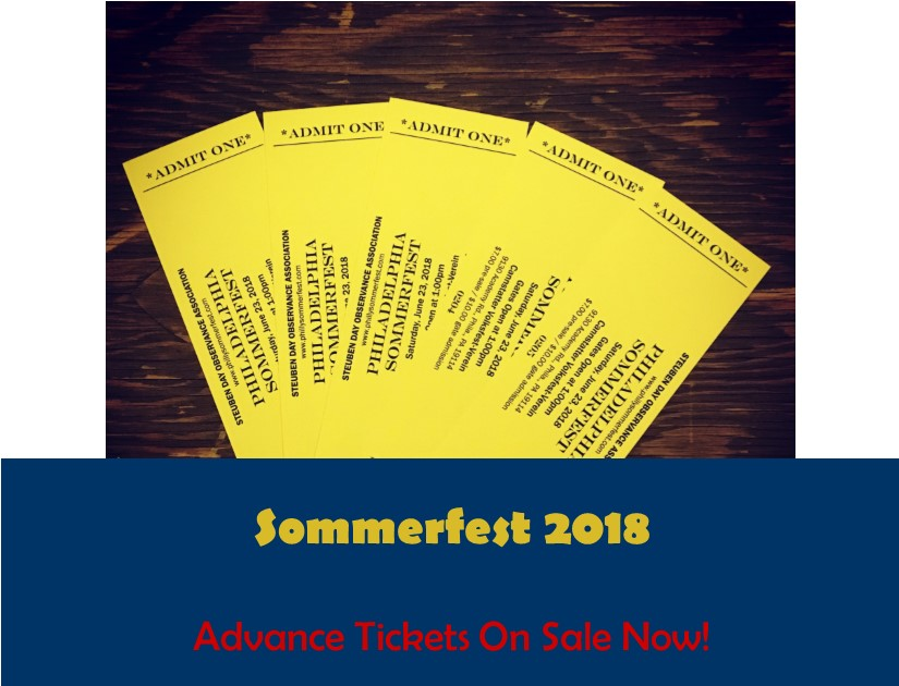 Sommerfest Advance Tickets